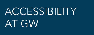 Accessibility at GW homepage